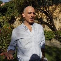 New York Times reporter Matthew Rosenberg, 40, speaks during an interview in Kabul on Wednesday. Afghanistan has given Rosenberg 24 hours to leave the country, accusing him of not cooperating with an investigation into his reporting, the attorney general's office said the same day. | REUTERS