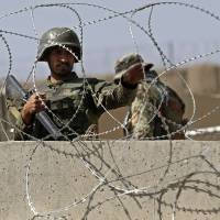 Attack at Afghan base kills U.S. soldier, wounds 15