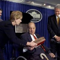 Former White House press secretary James Brady, gun control advocate, dies at 73