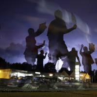 Protests remain muted in Ferguson as National Guard withdraws