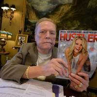 As Hustler turns 40, porn king Larry Flynt fights on
