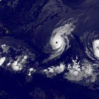 Hawaii stocks up on water as two major storms loom