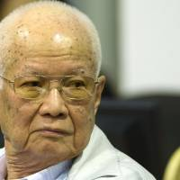 Khieu Samphan: murderous Khmer Rouge's head of state given life term