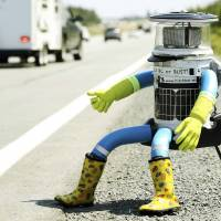 Hitchhiking Canadian robot tests trustworthiness of humans