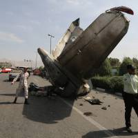 Plane crash in Iran kills 39, official says