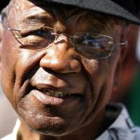 This photo taken on Feb. 17, 2007, in Maseru shows Lesotho Prime Minister Tom Thabane. | AFP-JIJI