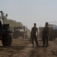Ukrainian troops take over much of Luhansk