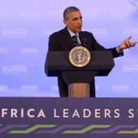 Security, corruption key topics in Obama's talks with African leaders