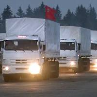 Ukraine says Russian aid convoy will be stopped at border