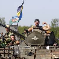 Ukraine loyalists say they're close to taking rebel-held area