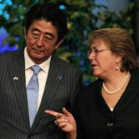 Abe hopes to tap women in September reshuffle of Cabinet, LDP leadership