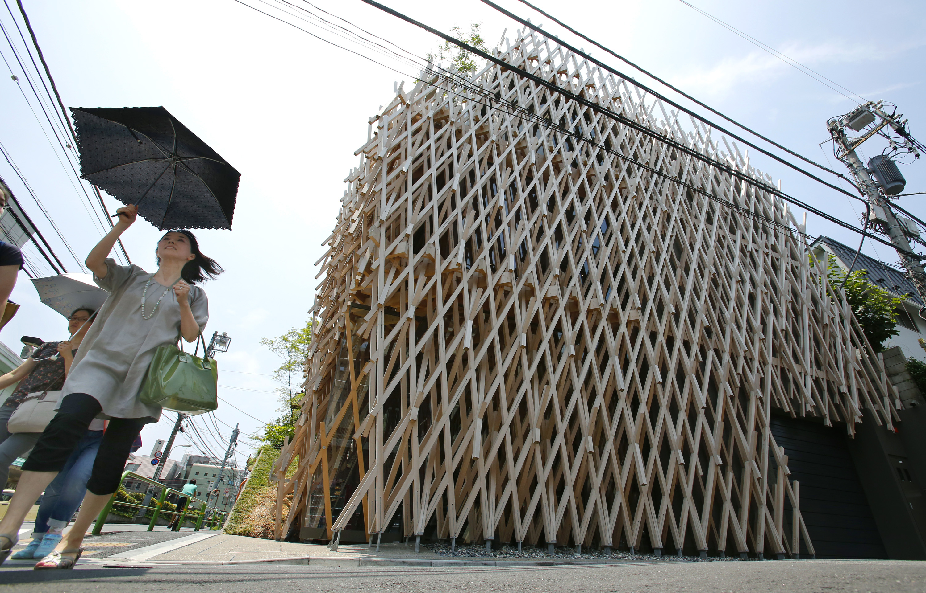 Japanese architects sell lifestyle on a global stage the for Architecture tokyo