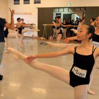 French ballet stars bring hope to young dancers affected by Fukushima disaster