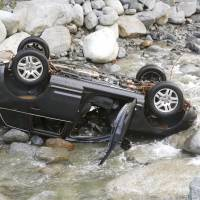 Three campers drown in Kanagawa after vehicle overturns in river