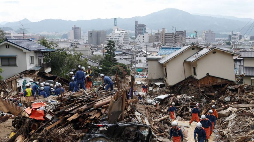 Hiroshima slide toll rises to 71 dead, 18 missing; mayor admits delayed alert