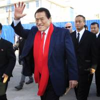 Inoki, Sapp to headline North Korean martial arts show