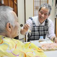 Older workers play vital role in Japan's nursing sector from suffering labor shortage