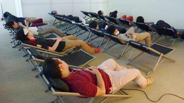 Firms wake up to merits of siestas