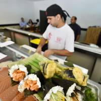 Hand-rolled sushi gets Brazilian makeover