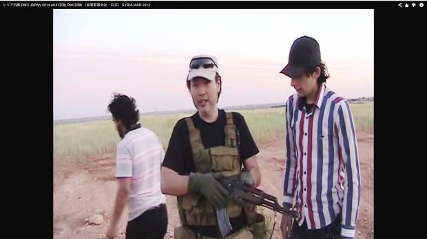 Islamic State says it's holding Japanese man captured in Syria