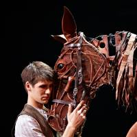 "War bonds: Two moving scenes from Nick Stafford's stage adaptation of Michael Morpurgo's book ""War Horse"" involving an English farm boy named Albert and his horse, Joey, who are both caught up in the horrors of World War I. 