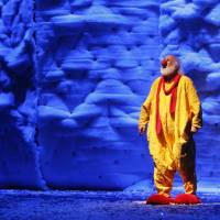 Clowning gets serious in Slava's show