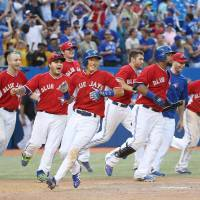 Blue Jays edge Tigers in 19-inning contest