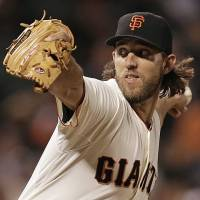 Bumgarner pitches gem