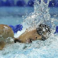 Hagino claims 400 freestyle silver