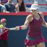 Lisicki upsets Errani in 1st round of Rogers Cup