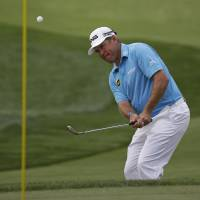 Westwood tied for PGA lead