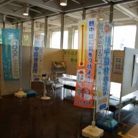 "Kumagaya City  Hall is one of many organizations in the municipality that has set up a ""Cool Share"" space in which anyone who is starting to wilt in the heat can sit down, relax and in many cases enjoy a beverage and snack. 