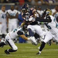 Backup QB Palmer rallies Bears to late win over Jags