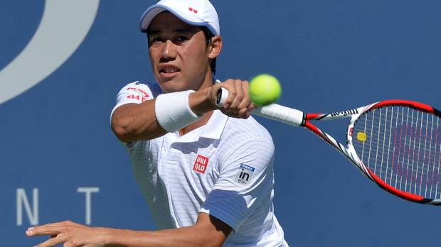 Nishikori reaches third round of U.S. Open