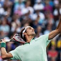 Laid-back Federer preparing for U.S. Open in Toronto