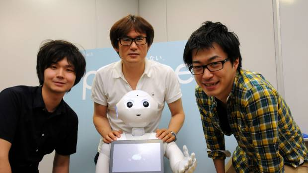 Yoshimoto's role in creating a real-life robot with a sense of humor