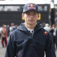 Teen Verstappen shrugs off pressure