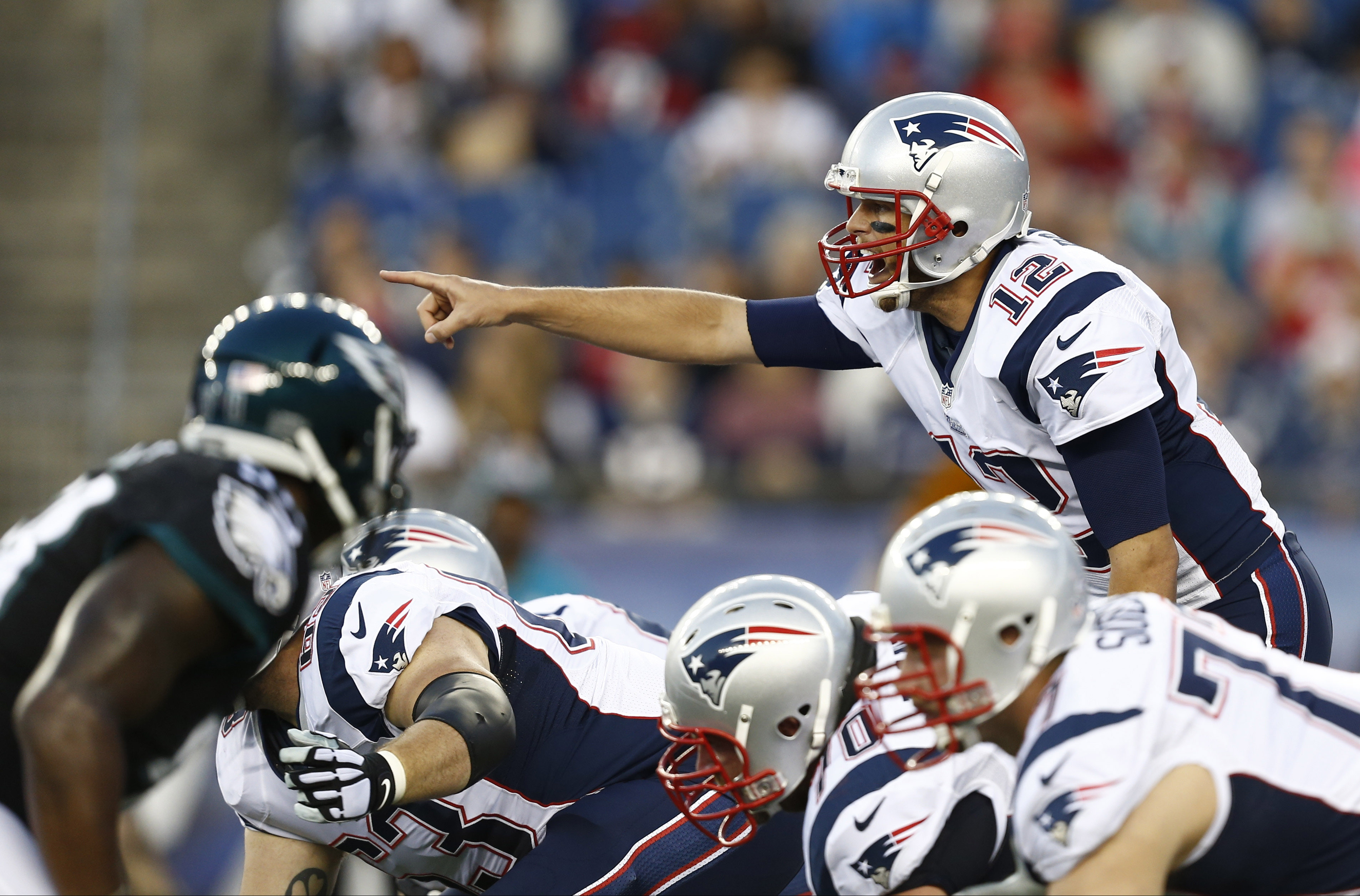 Pats Get Solid Qb Play Against Eagles The Japan Times