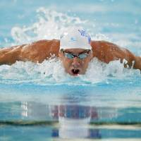 Phelps beaten in 100 fly