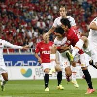 Reds trounce Ardija, increase lead atop J. League table