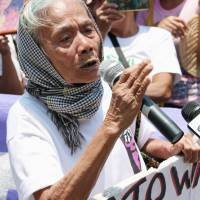 Filipino 'comfort women' demand justice from Japan