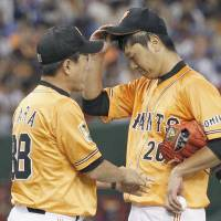 Utsumi savors win as Giants beat Carp