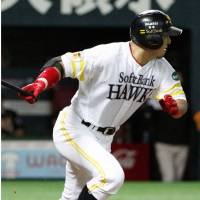 Matsunaka gives Hawks a spark in team's eighth straight triumph