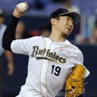 Starter Kaneko collects 10th win as Buffaloes hammer Hawks