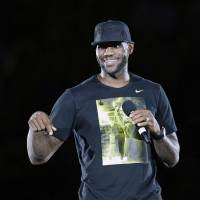 LeBron says he won't leave Cleveland again