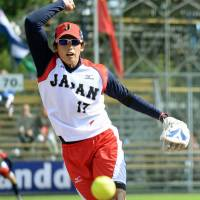 Ueno tosses no-hitter against China at softball worlds