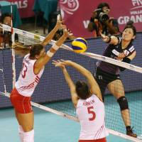 Japan spikers outplay Turkey in FIVB World Grand Prix Finals