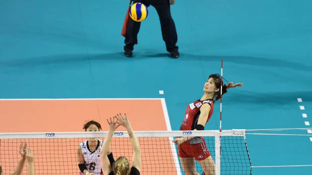 Japan spikers take unbeaten record into final day at FIVB World Grand Prix Finals