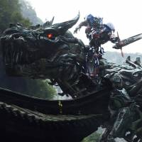 Futuristic fossils: The Dinobots show up in 'Transformers: Age of Extinction.' The fourth installment of the series sees the return of Optimus Prime and other robots, but features a new cast of human characters. | © 2014 PARAMOUNT PICTURES. All LIGHTS RESERVED. HASBRO, TRANSFORMERS, AND ALL RELATED CHARACTERS ARE TRADEMARKS OF HASBRO