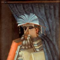 Giuseppe Arcimboldo's 'The Librarian' (ca. 1566)    | SKOKLOSTER CASTLE, SWEDEN INV.NO.11616, PHOTO: SAMUEL UHRDIN
